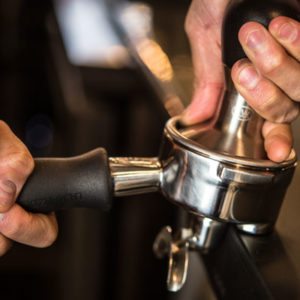 40lbs coffee bar tamping square